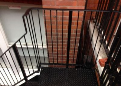 Metal Staircase Fabrication, Westminster London SW1 2