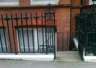 Metal Staircase Fabrication, Westminster London SW1 8
