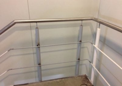 New Section of Stainless Steel Handrail Fabricated, Beckton London E6 3