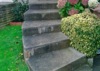 New handrail for front garden steps, Chingford, London E4 4