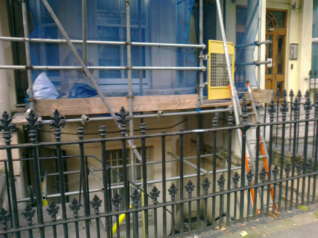 Railing Repair Replacement Of Missing Finials Chelsea