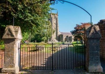 Church Railing and Gate Repairs 2