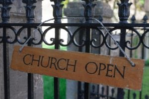 Church Railing and Gate Repairs