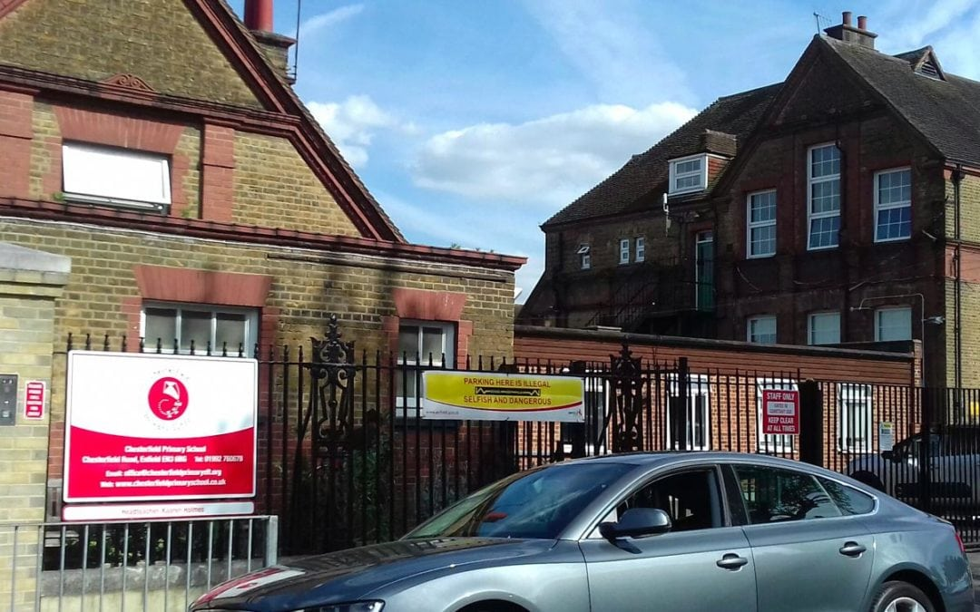 Fire Escape Survey and Report, Chesterfield Primary School, Enfield, London EN3