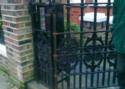 Metal Gate Repair, Hampstead, London NW3 3