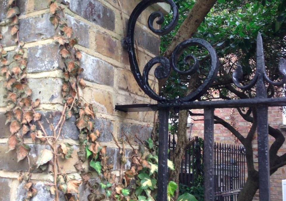 Railing Repairs, Stepney Green, London E1