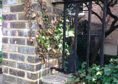 Railing Repairs, Stepney Green, London E1 2