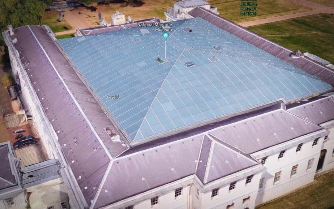 Roof Window Repairs, National Maritime Museum, Greenwich, London, SE10