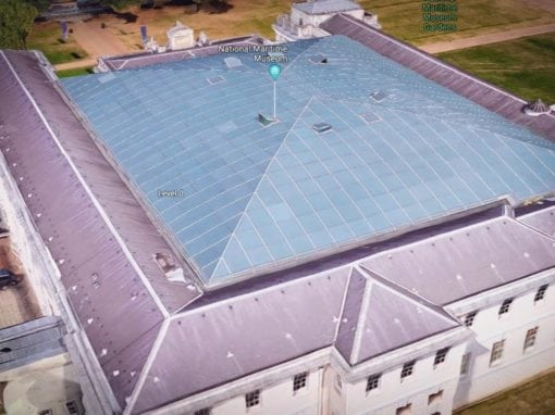 Roof Window Repairs, National Maritime Museum, Greenwich, London, SE10