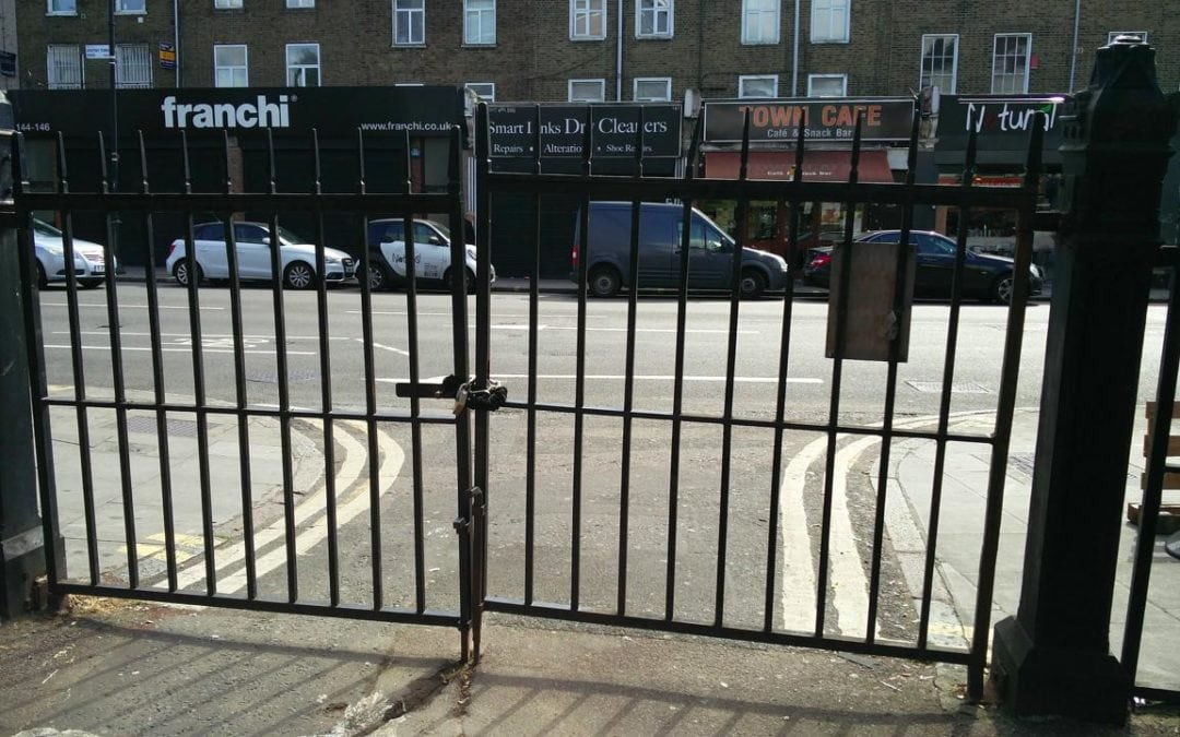 Gate Repairs, Kentish Congregational Church, London NW1