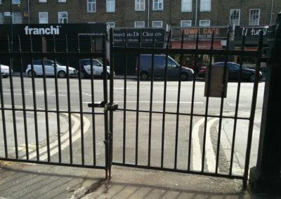 Gate Repairs, Kentish Congregational Church, London NW1