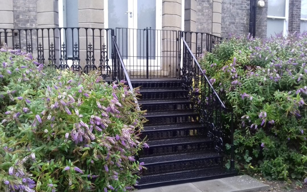 Repair and Refurbishment of Garden Steps, Putney Hill, London SW15