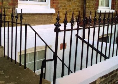 Replacement of Missing Railing Finials, Maidstone, Kent