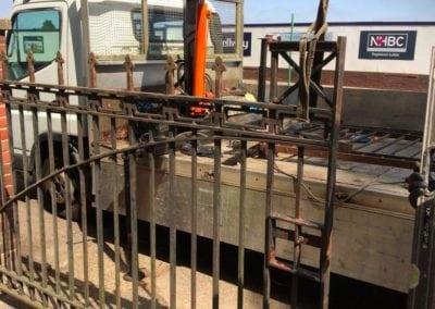 Gates Repairs Priory Park Works Yard Gates 4