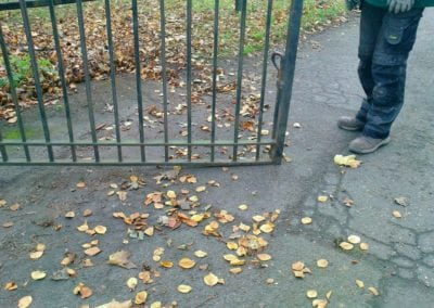 Gates Repairs Priory Park Works Yard Gates 6