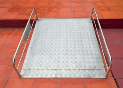 Portable Metal Ramp 2