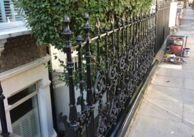 Railing Repairs London SW6 3