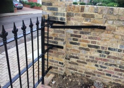 Repair of Gate Leaf and Small Railing Section, Barnet, Herts EN5 2