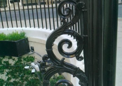 Repair of Railings and Planters London SW1 11