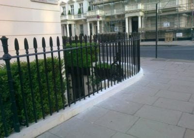 Repair of Railings and Planters London SW1 2