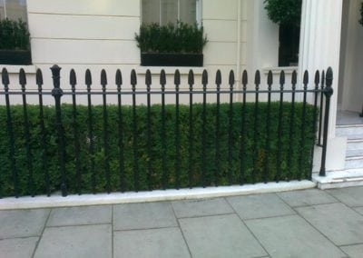 Repair of Railings and Planters London SW1 3