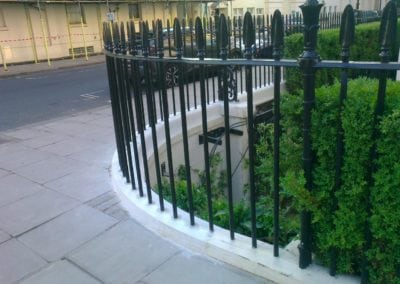 Repair of Railings and Planters, London SW1