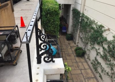 Repair of Railings and Planters London SW1 5
