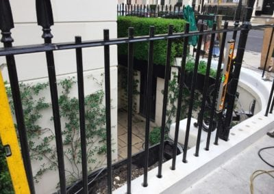 Repair of Railings and Planters London SW1 6