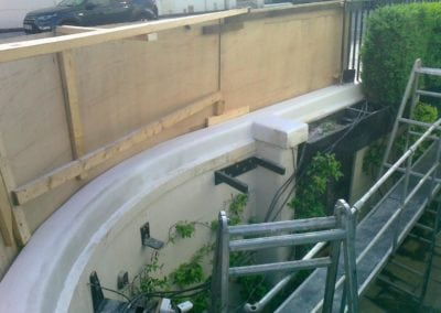 Repair of Railings and Planters London SW1 9