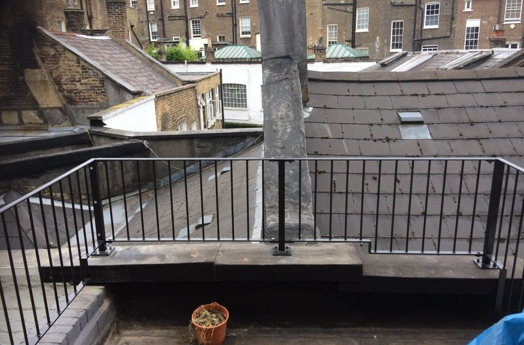 Roof Balustrade, Bayswater, London W2