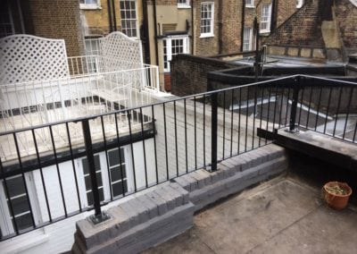 Roof Balustrade Fabrication Bayswater London W2 2
