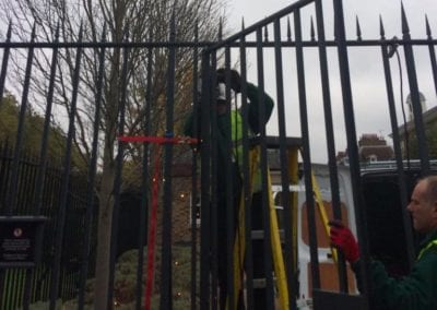 Gate Repairs for an historic London Property 2