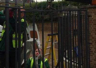 Gate Repairs for an historic London Property 4