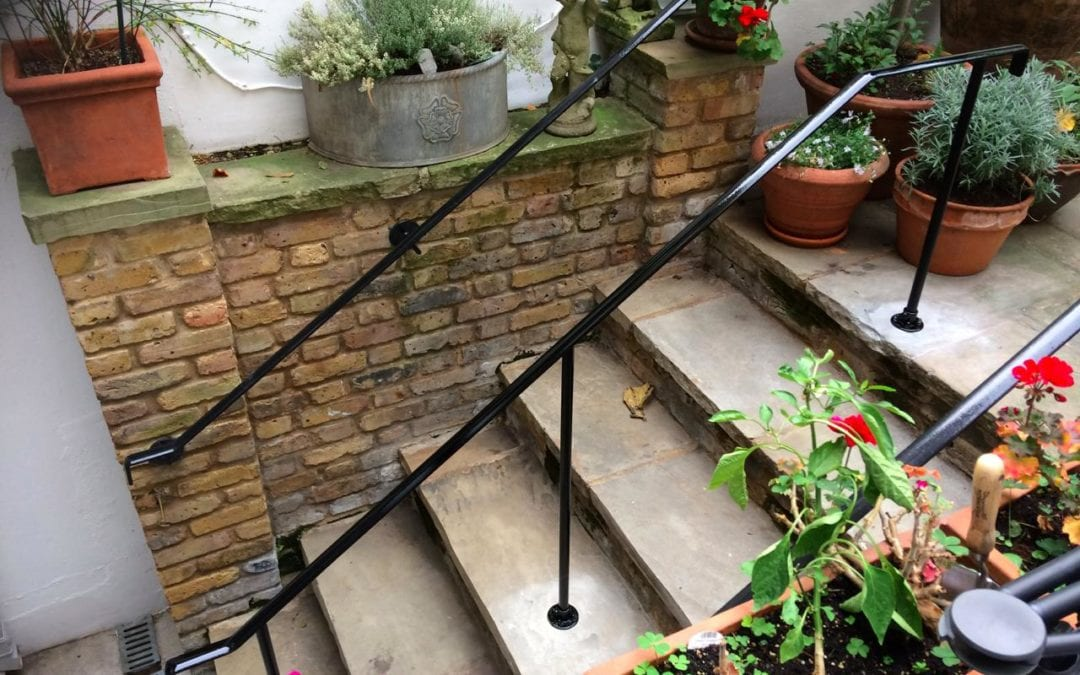 New Centre Handrail for Rear Steps London SW3