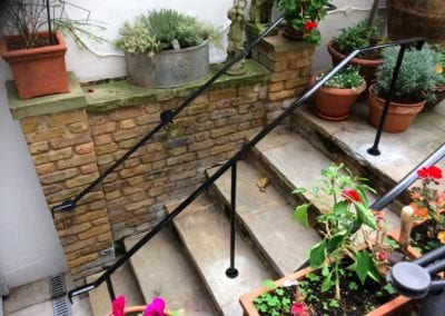 New Centre Handrail for Rear Steps London SW3 1