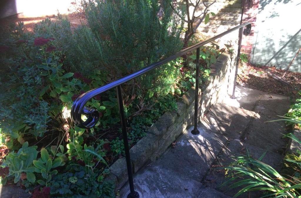 New Handrail for Garden Steps, Epping, Essex