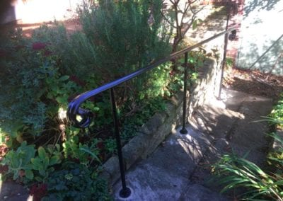 New Handrail for Garden Steps, Epping, Essex 1