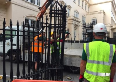 Repair of the Exit Column, The Royal Society, London SW1 8