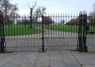 Repair of Dulwich Road Gates