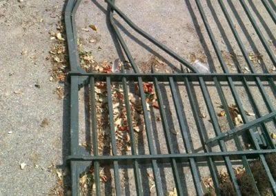 Metal Gate Repair for Councils Dulwich Road 5