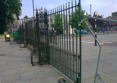 Metal Gate Repair for Councils Dulwich Road 8