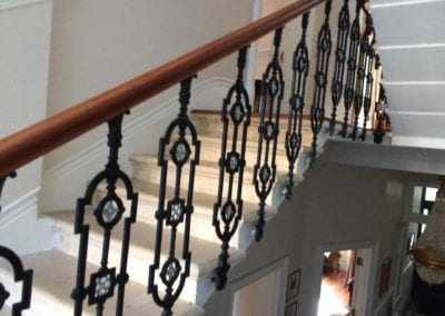 Replacing Missing Balustrade Panel, Kensington, London W8
