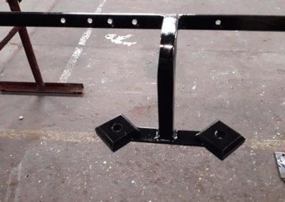 Brass Handrails for a Church in Richmond 8