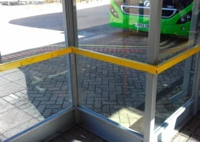 Bus Shelter Handrails, Intu Lakeside Shopping Centre, West Thurrock, Essex 7