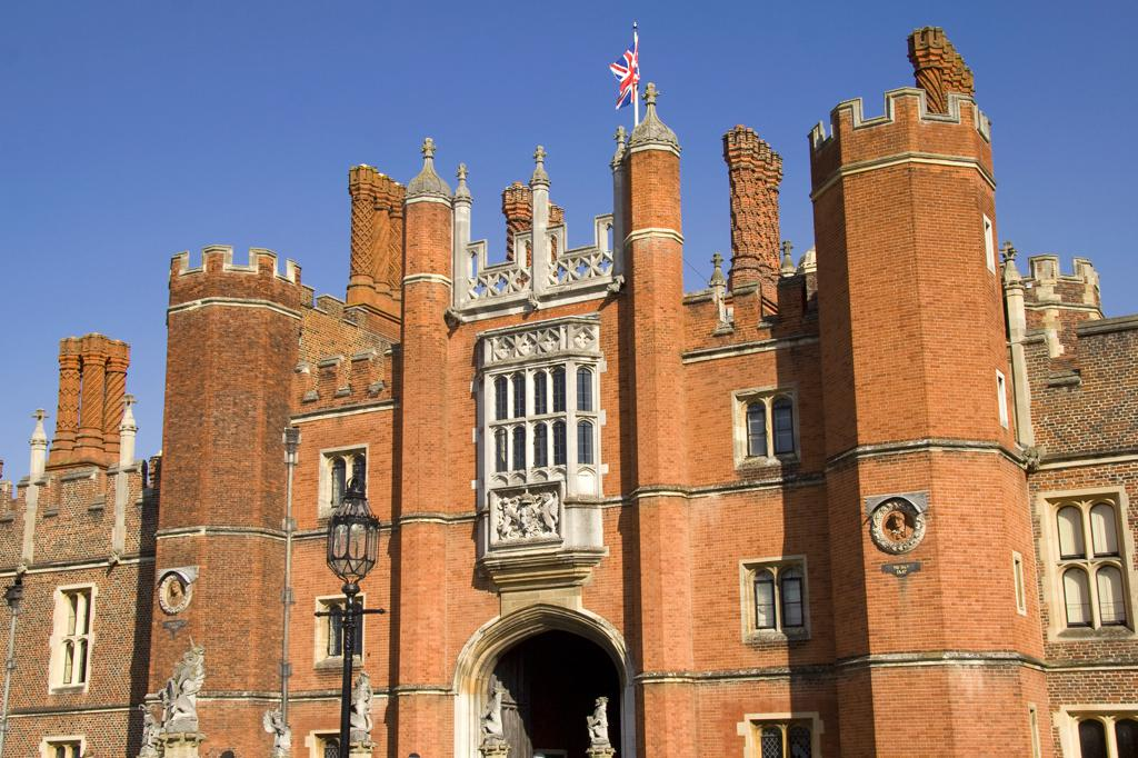 Battle Towers Magic Garden Hampton Court Palace Surrey