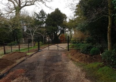 New Gate & Railings, Chelsworth, Suffolk 1