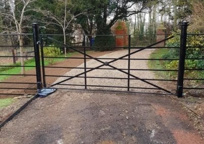New Gate & Railings, Chelsworth, Suffolk 2