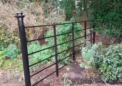 New Gate & Railings, Chelsworth, Suffolk 3