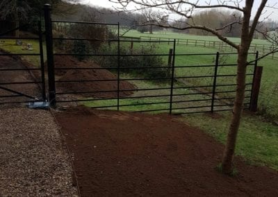 New Gate & Railings, Chelsworth, Suffolk 4