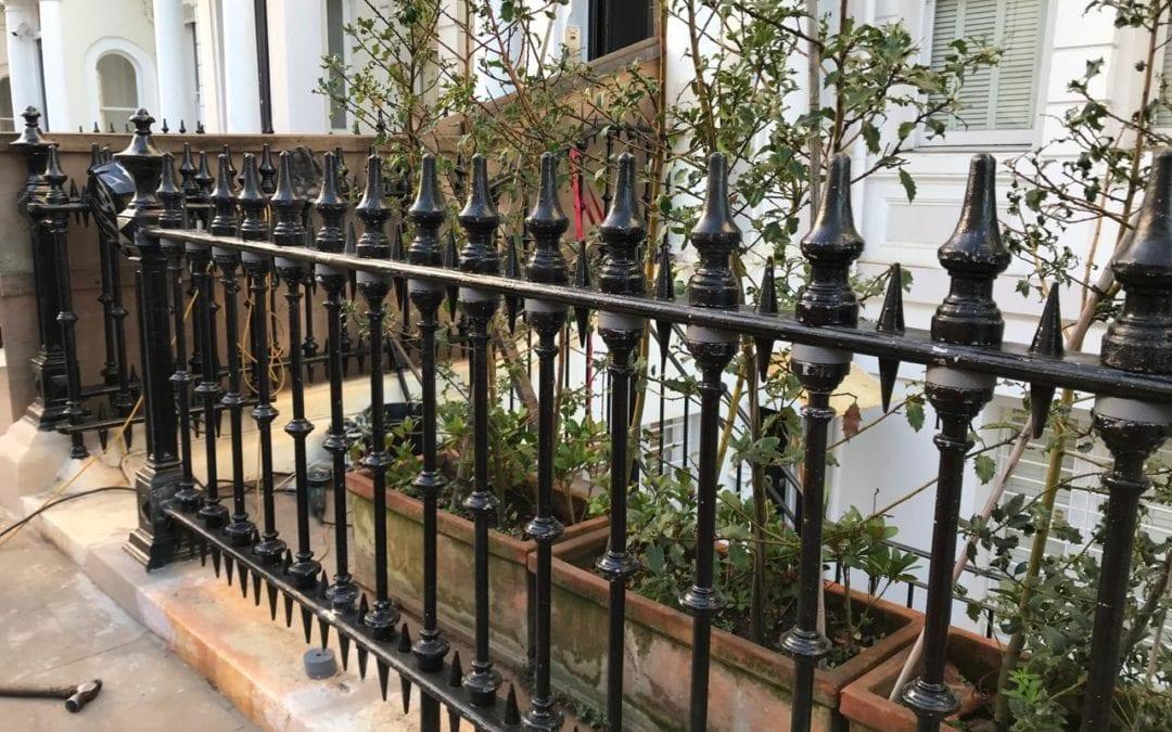 Railing Repairs, Ladbroke Gardens, London W11